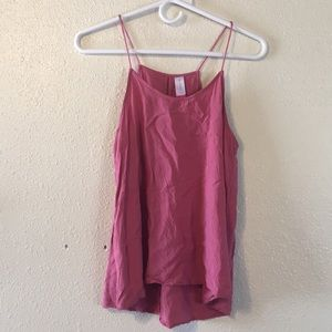 No Boundries Spaghetti strap tank
